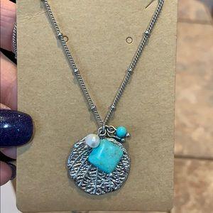💐5/25 Lia Sophia freshwater pearl natural stone